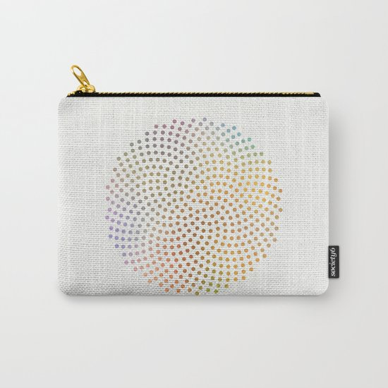 Spiral Dots Carry-All Pouch