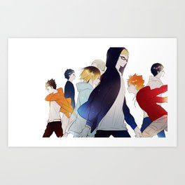 Haikyuu Art Print