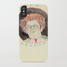 Happy Bruleday Slim Case iPhone X