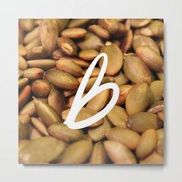 Recettes du Bonheur - foodies Metal Print