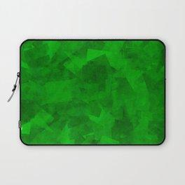 Emerald Fragments Laptop Sleeve
