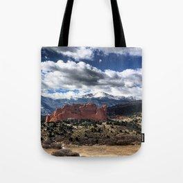 Pikes Peak - Colorado Springs Tote Bag
