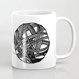 MKG Yarn - Black Coffee Mug