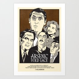 Arsenic and Old Lace Art Print
