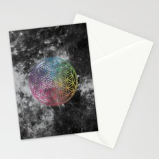 Sacred Geometry Universe 6 Stationery Cards