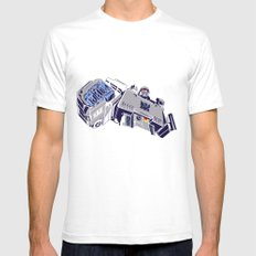 Transformers - Megatron Mens Fitted Tee SMALL White