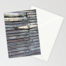 Green Barn Hinge Stationery Cards