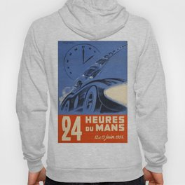 1954 Le Mans poster, Race poster, car poster, Hoody