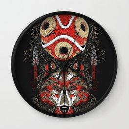 Mononoke Totem Wall Clock