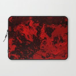 Marble-Red Laptop Sleeve