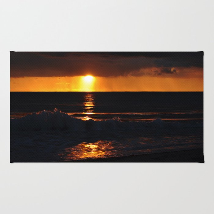 West Coast Sunset Rug