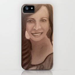 Once upon a Portrait iPhone Case