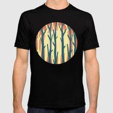 trees against the light 2 Mens Fitted Tee Black MEDIUM