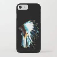 headdress iPhone & iPod Cases featuring Headdress by James Peart