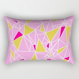 acolita, abstract triangles Rectangular Pillow