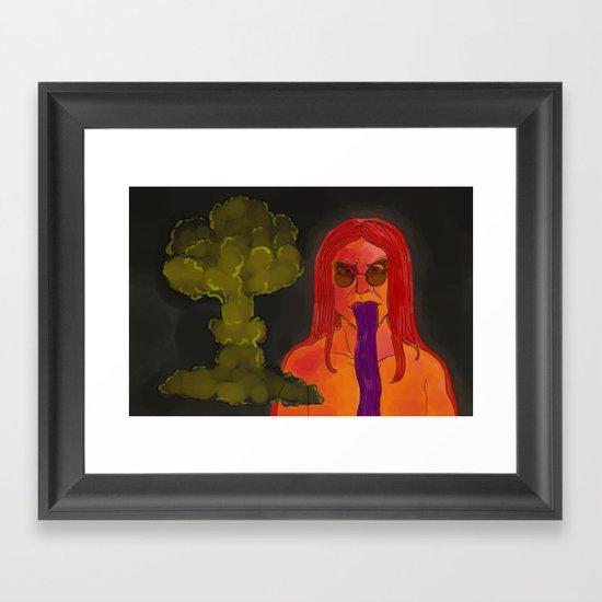 """13"" by Virginia McCarthy Framed Art Print"