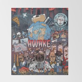 AWAKE! Throw Blanket