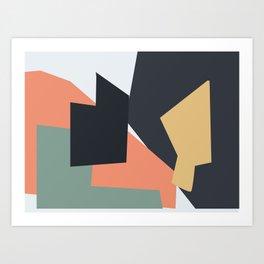 United Shapes Art Print