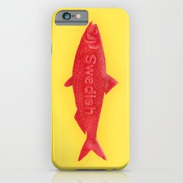 Swedish Fish iPhone Case