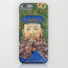 Portrait of the Postman by Vincent van Gogh iPhone Case