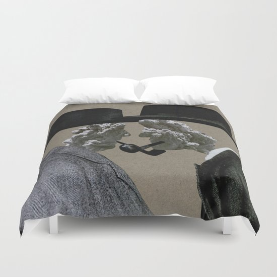 Smoke (II) Duvet Cover