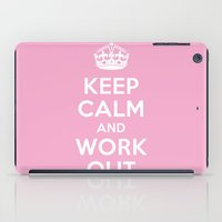 keep calm iPad Cases featuring Keep Calm by Free Specie