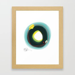 Abstract number 45D Framed Art Print