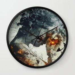 The Weeping Angel Wall Clock