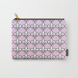 Fleur De Lis....Purple,pink Carry-All Pouch