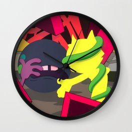 KAWS - Presenting the Past Wall Clock
