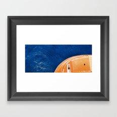 Life Boat Framed Art Print