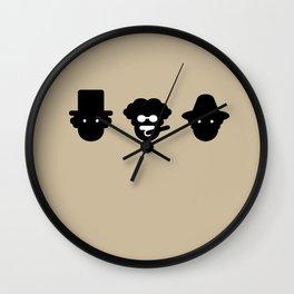 chico, harpo & groucho Wall Clock