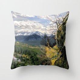 Wilderness Trail Throw Pillow