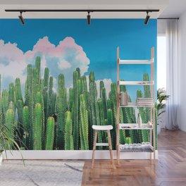 Cactus Summer #nature #digitalart Wall Mural