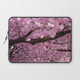 Cherry Blossom Tree Panorama Laptop Sleeve