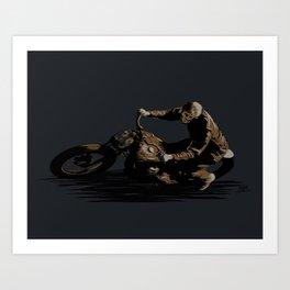 DEATH 39 Art Print