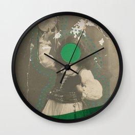 Tambourine Girl Wall Clock