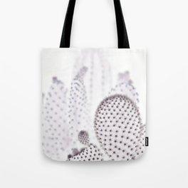 WHITE CACTUS Tote Bag