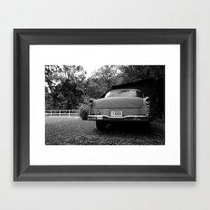 The Car Framed Art Print
