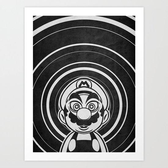 Super Trippin Bros. Mario is All Stars. Art Print