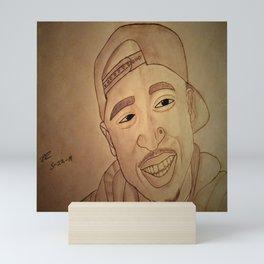 Hip hop legend by Double R Mini Art Print