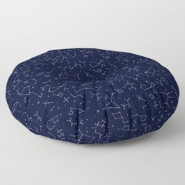 Chemicals and Constellations Floor Pillow