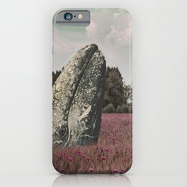 wild whale wood flower iPhone Case