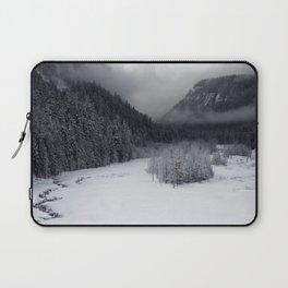 Snowy Morning Laptop Sleeve