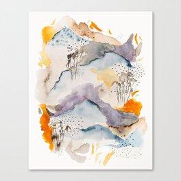 marmalade mountains Canvas Print