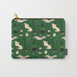 Slytherin Pattern Carry-All Pouch
