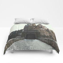 Finally, a Castle - landscape photography Comforters