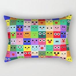 Friend Stack Rectangular Pillow