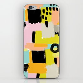 Color section001 iPhone Skin
