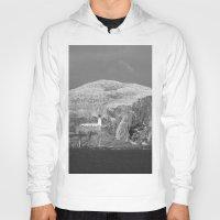 scotland Hoodies featuring Bass Rock, Scotland by Phil Smyth
